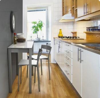 Cocinas pequeñas con barra o desayunador