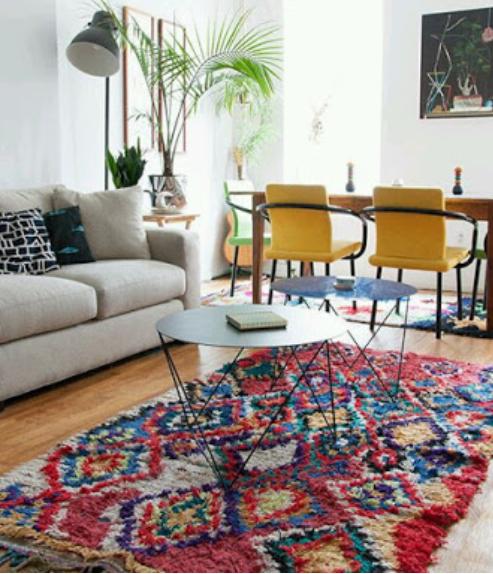 alfombras Azilal marroquíes, marruecos