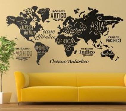 vinilos decorativos, adhesivos para habitaciones personalizados