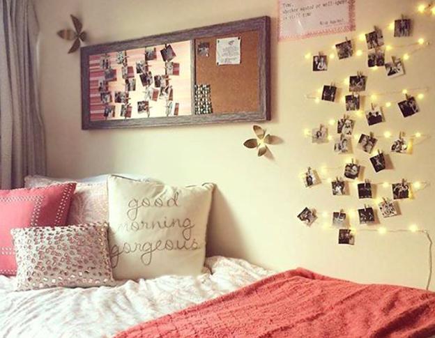 decoración de dormitorios juveniles para mujeres y hombres varones