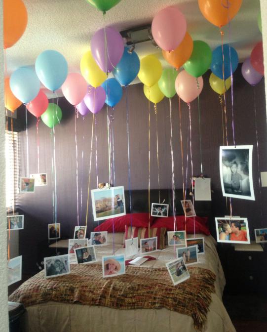 Decoraciones de cuartos para parejas aniversario