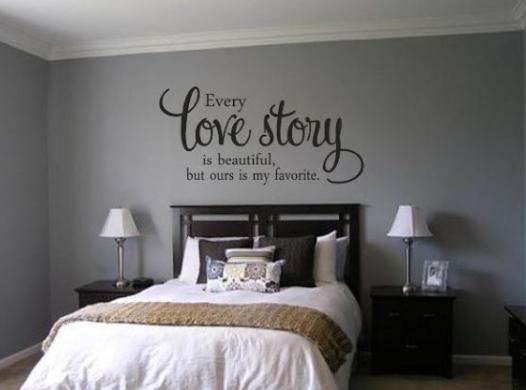 Decoraciones de cuartos para parejas