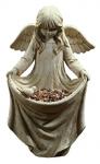 figuras-de-cemento-para-jardín-ángel