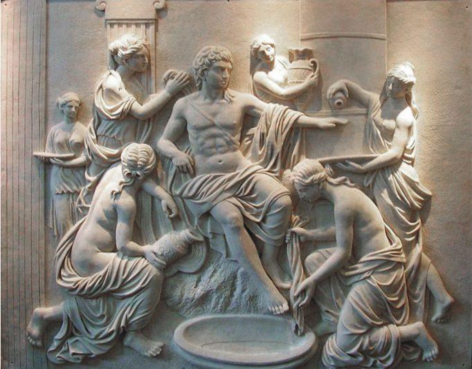 Relieve-escultura