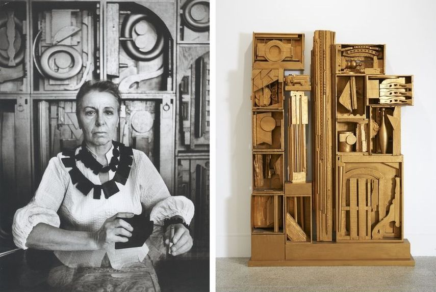 Louise-Nevelson-artistas-abstractos