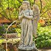 estatua-gabriel-rezando