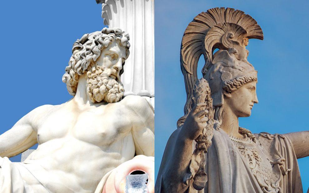 dioses-griegos-romanos-historia-estatuas